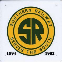 Southern Railway Logo Sign
