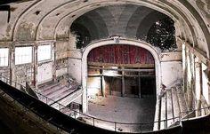 Le théâtre abandonné de Jumet