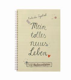 Kalender, Notizbücher & Drucke für ein besseres Leben bestellen im Onlineshop von EINE DER GUTEN - Dein tolles neues Leben beginnt jetzt! Kalender mit 52 Aufgaben für jede Woche kaufen