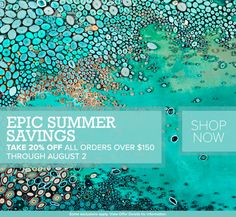 Stretched Canvas Art Sale! Shop Wall Art Decor, Designer Wall Decals, Oversize Murals, Decorative Table Lamps and more and save 20% on orders over $150! Plus, get FREE shipping now through 8/2.