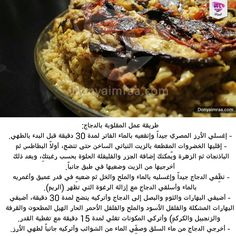 Arabic Food, Food And Drink, Arabic Recipes, Beef, Homemade, Chicken, Arabian Food, Meat, Home Made
