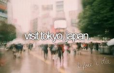 I Wanna Visit All Different Cities And Countries Of The World.