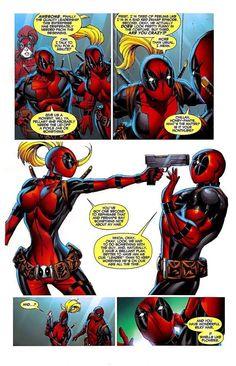 Deadpool vs Lady Deadpool