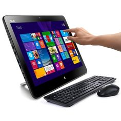 ASUS Portable AIO PT2001 19.5 Touchscreen Core i5-4200U Dual-Core 1.6GHz All-in-One PC - 8GB 1TB/W8.1/Webcam/WiFi-AC/BT
