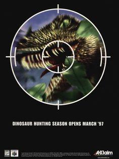 Dinosaur Hunting Season Opens March '97