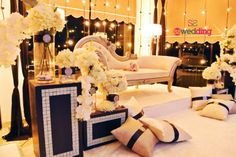 Malay Indoor Reception Pelamin Solemnization Dais For Deanna Yocik 64154