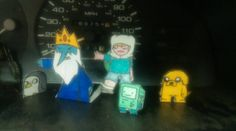 some adventure time cutouts by colt45