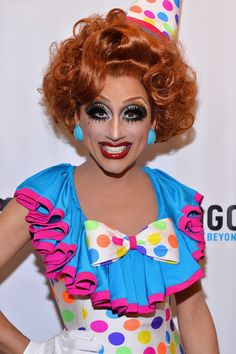 Bianca Del Rio. I have no idea how she gets all those lashes on. I would love some lessons from her. WOW!