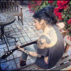 Wings Tattoo Ideas And Their Meanings Sexy Tattoos, Girl Tattoos, Miami Ink, Kat Von D Tattoos, The Kat, Female Tattoo Artists, Woman Crush, Beautiful Tattoos, Women