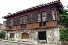 Philippine Architecture_bahay na bato Filipino Architecture, Philippine Architecture, Art And Architecture, Filipino Interior Design, Wooden Window Design, Filipino House, Bali, Philippine Houses, Philippines Culture