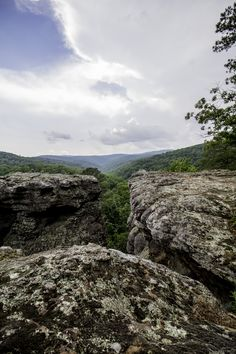 Some spots in the Ozarks you can see for miles