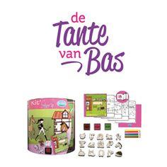 De Tante van Bas is een webshop voor verrassende cadeaus met veel leuke gifts voor kinderen van 0 tot 12 jaar, maar ook voor volwassenen. Aanrader is het Handboek voor Coole tantes en de babystempels Boerderijdieren Aladine. Ook handig zijn de brievenbuscadeaus. Als je de code 'hippeshops' gebruikt, ontvang je als Hippe Shops lezer 10% korting op alle cadeautjes bij De Tante van Bas!  http://www.hippeshops.nl/leuke-en-hippe-cadeautjes-bij-de-tante-van-bas