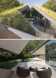 modern subterranean houses - Google Search