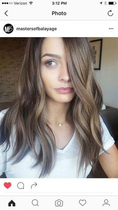 Image result for subtle blonde balayage for brunette
