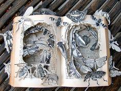 libri antichi - book-sculpture-kelly-campbell__880