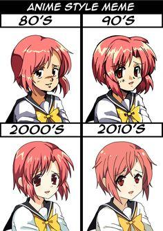 Anime Style Meme by BoarsBoarsBoars