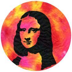 Fun Coffee Filter Art Projects · Art Projects for Kids Pop Art Portraits, Portrait Art, Mona Lisa, Coffee Filter Art, Coffee Filters, Renaissance Kunst, Andy Warhol, Italy Art, Famous Art