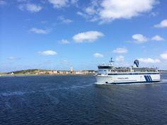 Ms Friesland II @rederijdoeksen voor de kust van #Terschelling (credits foto: Esther Sessink)
