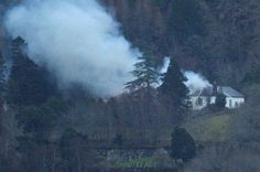 Scots manor once owned by legendary Led Zeppelin guitarist Jimmy Page destroyed by fire
