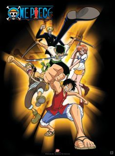Poster One Piece Luffy and Co (52X38)