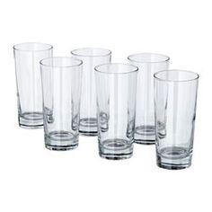 IKEA - GODIS, Vaso, El vaso es alto y presenta una forma sencilla y recta perfecta para servir todo tipo de bebidas frías, como combinados con mucho hielo.