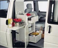 Mueble T4 Multivan compacto