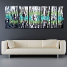 Contemporary-Metal-Wall-Art-Panels-Modern-Abstract-Sculpture-Painting-Home-Decor