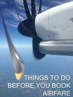 Things to do before you book airfare #vueloseuropa
