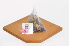 Oolong Blossoms Tea Sachets - Premium Oolong Tea, Chamomile Flowers, Forget-Me-Not   Tea bags with quotes - Find out more at www.collabtea.com