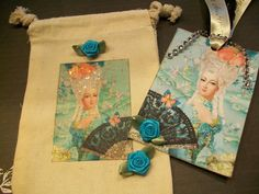 Marie Antoinette Tag In A Bag    TB  003   by smtiffanylane, $6.95