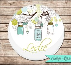 Personalized+Bridesmaid+Gift++Compact+Mirror+by+SpotlightMirrors,+$4.99