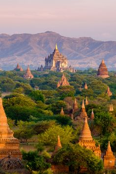 The ancient city of Bagan in Myanmar is a UNESCO World Heritage Site. : The ancient city of Bagan in Myanmar is a UNESCO World Heritage Site. Bagan, Travel Photography Tumblr, Photography Beach, World Photography, Angkor Wat, Beautiful Places To Travel, Beautiful World, Beautiful Sites, Amazing Places