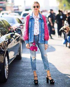 """@chiaraferragni con los jeans de la colección cápsula """"Levi's ❤️ The Blonde Salad""""! #LadiesInLevis #LiveInLevis"""