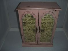Cottage Chic Jewelry Box Painted and Distressed  by AtticJoys1, $40.00