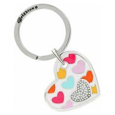 Brighton Bonbon Hearts Key Fob #VonMaur #Brighton #KeyFob #Hearts