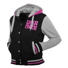 Urban Classics College Dance Hoody (Black) ($72) ❤ liked on Polyvore