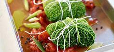 Delhaize - Chou vert farci à la viande d'agneau