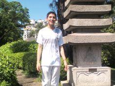 En el Jardín Japones en Buenos Aires