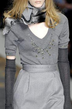 Blumarine at Milan Fall 2007 (Details)