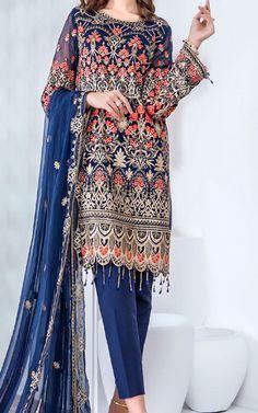 Chiffon Shirt, Chiffon Fabric, Winter Dresses, Winter Outfits, Fashion Pants, Fashion Dresses, Pakistani Lawn Suits, Pakistani Dresses Online, Add Sleeves