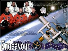STS-97 Crew poster