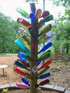 Image detail for -What's a bottle tree, and why do I want one as garden art?