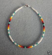 White +Turquoise Anklet,Ankle Bracelet Native American