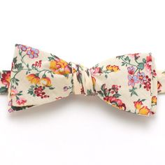 Butter Rose Classic Bow Tie - vintage bow ties handmade in the United States