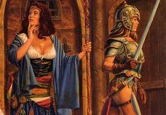 IronGarm • View topic - The artwork of Larry Elmore (D&D artist)