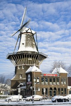 Windmill Amsterdam The Netherlands by Michelmitchell, via 500px.