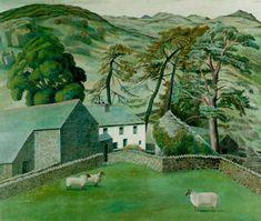 Watendlath Farm, Cumberland by Dora Carrington