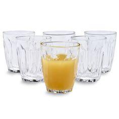 Duralex Provence Glasses, Set of 6, 3.1 oz. | Sur La Table