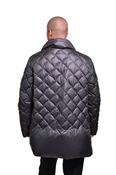 Bottega Veneta Men's Down Heavy Winter Coat Black