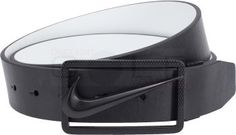 Nike Swoosh Cutout Reversible Belt